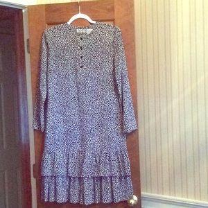 Liz Claiborne - Size 8P - Dress with Ruffled Hem